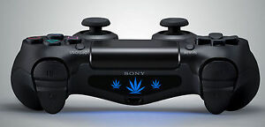 2x playstation ps4 controller light bar decal sticker weed image is loading 2x playstation ps4 controller light bar decal sticker aloadofball