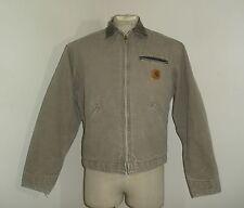 CARHARTT J97 DES BLANKET LINED chore DETROIT SANDSTONE Jacket USA MADE Large
