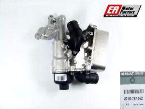 OE-Renault-Trafic-Opel-Vivaro-2-0-CDTI-Carcasa-De-Filtro-De-Aceite-Enfriador-8200797762