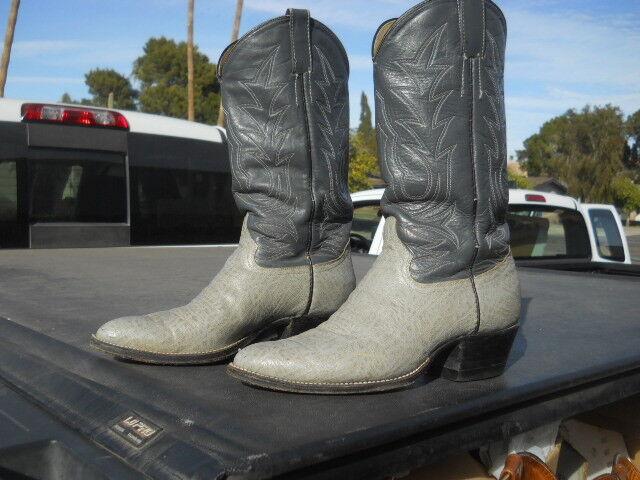 Used COWTOWN Western Cowboy  Boots Men;s Sz 9. D Mixmatched Soles
