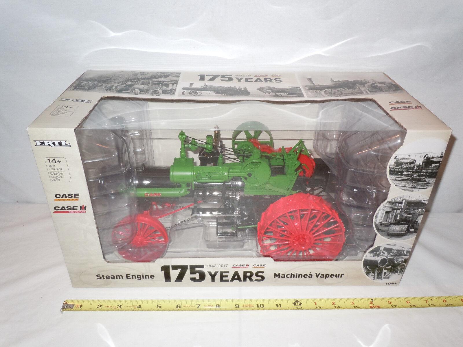 Caso Locomotora de vapor 175th Edición de aniversario por Ertl th Escala