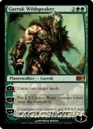GARRUK WILDSPEAKER M10 Magic 2010 MTG Green Planeswalker MYTHIC RARE