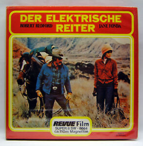 Revue-8664-Der-Elektrische-Reiter-Super-8-Film-110-m-s-w-Ton-sehr-selten