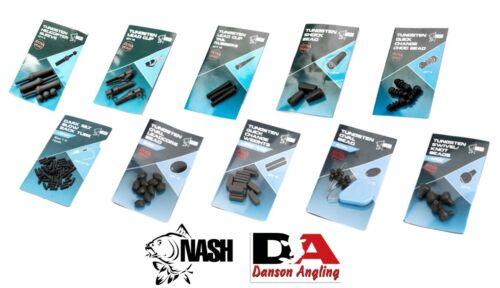 Nash Tungsten NEW Range Terminal Tackle Full Range In Stock