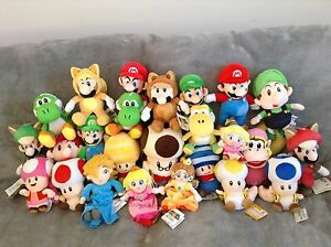 Super Mario Plush Collection Choose From 45 Different Heroes