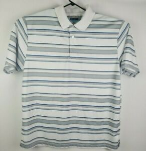 PGA-Tour-mens-Golf-Polo-Shirt-XXL-Airflux-Striped