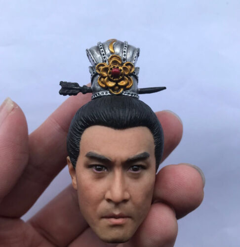 """1:6 Scale Ancient China Zhao Yun Head Sculpt For 12/"""" Male Doll"""