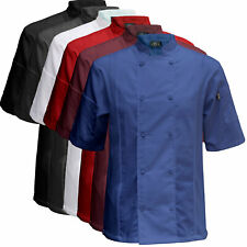 Chef Code Cool Breeze Side Vent Chef Coat Cc131