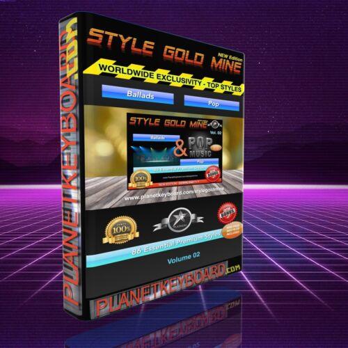 86 NEU SUPER STYLES Ballads /& Pop Yamaha PSR-S900 OTS NEUE EDITION