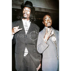 Details about TUPAC SNOOP DOGG 24X36 POSTER WALL ART DECOR HIPHOP LEGENDS  CHAIN RAPPERS STARS!