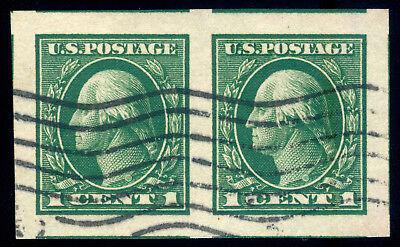 Us Briefmarken #408 Paar Gebraucht Pse Graded Cert Gem-100 Das Ganze System StäRken Und StäRken Momen Usa Nordamerika