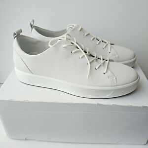 ECCO Womens Soft 8 White Low-Top