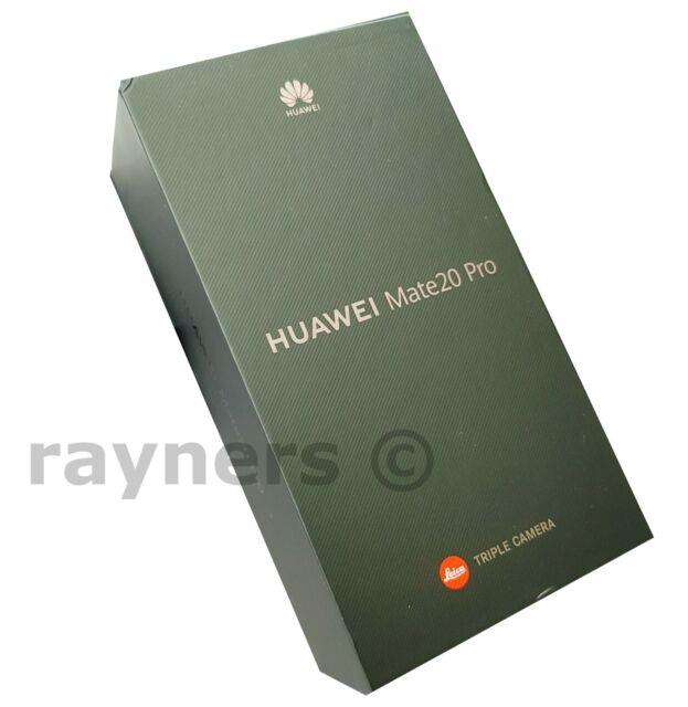 "(NUOVO; SCATOLA APERTA) Huawei Mate 20 Pro Nero Senza Sim 6.39"" 40MP 128GB 6GB LYA-L09"