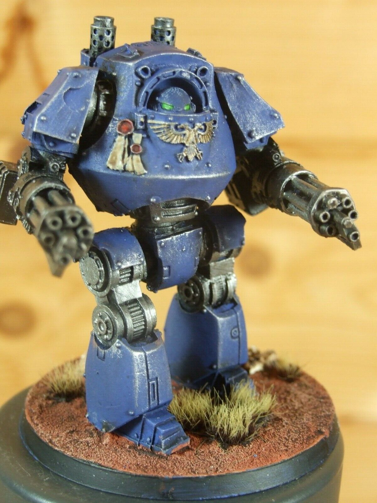 Forgeworld WARHAMMER  Ultramarines contemptor Dreadnought painted (L)  vente en ligne