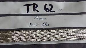 Litze Flachlitze Aluminium 15mm 1meter (TR62) - Helvesiek, Deutschland - Litze Flachlitze Aluminium 15mm 1meter (TR62) - Helvesiek, Deutschland