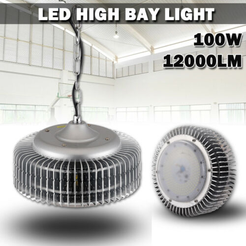 100W LED High Bay Light Commercial Warehouse Industrial Factory Shed Lighting