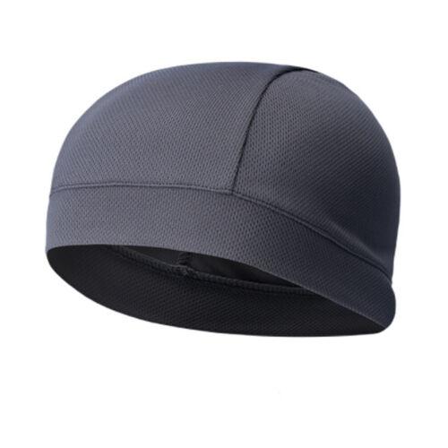 Fashion Elastic Summer Men Cap Absorb Sweat Solid Color Headband Outdoor Supply