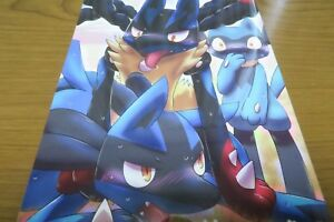 A5 30pages Holy Knight Odoshiro canvas furry kemono Pokemon Doujinshi Keldeo