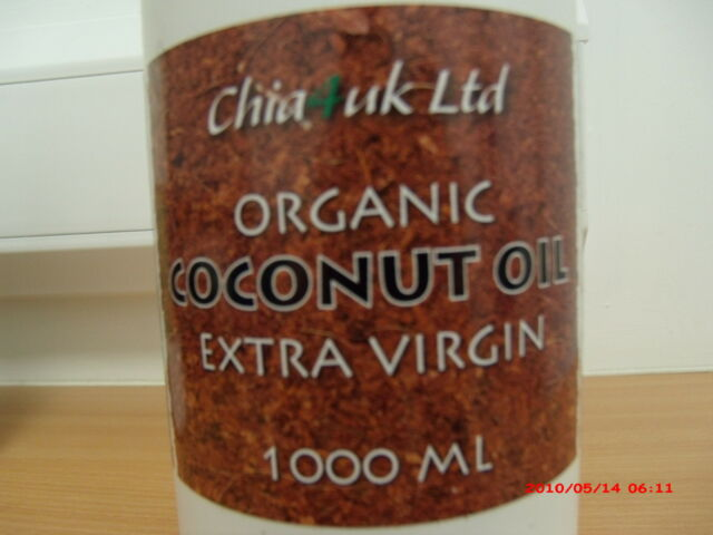 Coconut Oil - Pure, Raw, Extra Virgin, Organic. Natural Fragrance. In Glass Jar