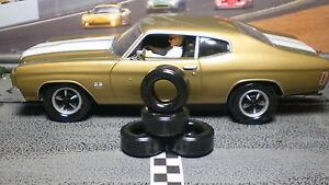 URETHANE SLOT CAR TIRES 2pr PGT-21093XXD fit Carrera Chevy Chevelle