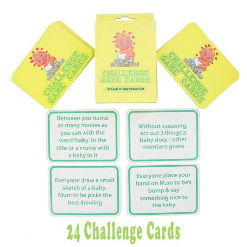 BABY SHOWER PARTY GAME GAMES Boy Girl Unisex ALL IN ONE LISTING