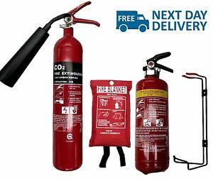 Small Cafe Food Van Mobile Kitchen Fire Safety Pack.2X Fire ...