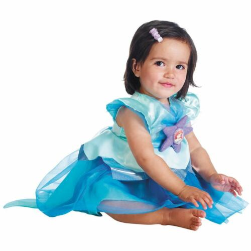 6-12M 12-18M 2T 3T 4T NWT THE LITTLE MERMAID ARIEL DELUXE HALLOWEEN COSTUME