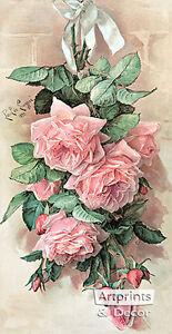 A-Bunch-of-Beauties-by-Paul-de-Longpre-Art-Print-of-Vintage-Art