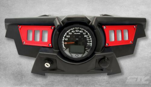 6 Switch dash panel for Polaris RZR XP 1000 Red