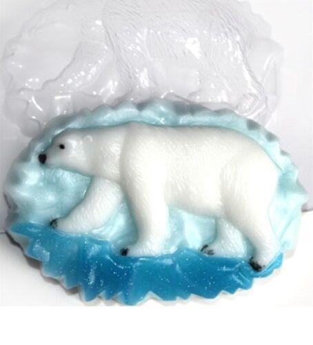 """/""""Oso Polar/"""" jabón de plástico Molde Molde de fabricación de jabón"""