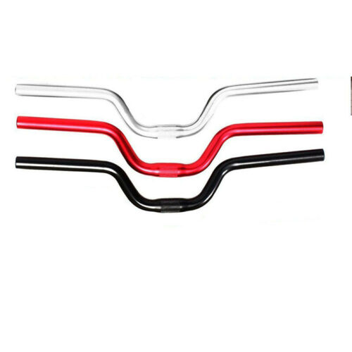 NEW Alloy Bicycle MTB Mountain Bike Handlebar Riser Bar 25.4mm Extra Long
