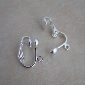 silver-plated-clip-on-earring-findings-5mm-half-ball-earclips
