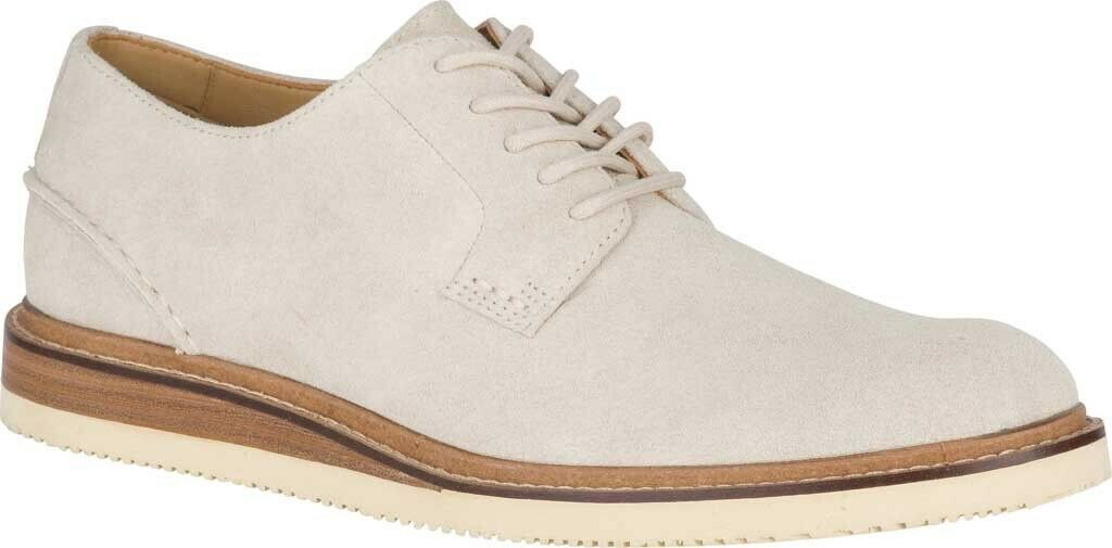 Sperry Top-Sider gold Cup Cheshire Oxford shoes (Men's) in Cement Suede - NEW