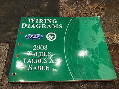 2008 Ford Taurus Mercury Sable Wiring Diagrams Electrical ...