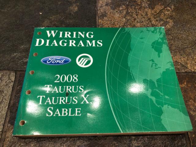 2008 Ford Taurus Mercury Sable Wiring Diagrams Electrical