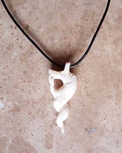 ivory pendant nyami nyami