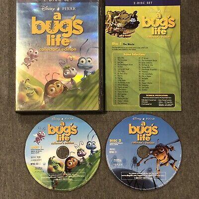 Disney Pixar A Bug S Life Collector S Edition 2 Disc Dvd Ntsc Used Free Ship 786936217896 Ebay
