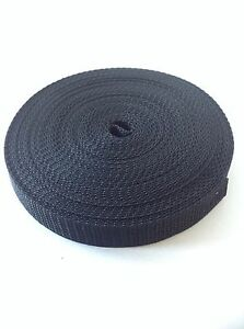 10mm-Black-nylon-webbing-Tape-strapping-x-10