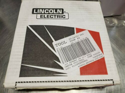 Lincoln Electric L-56 SuperArc 12.5lb Spool Steel MIG Wire