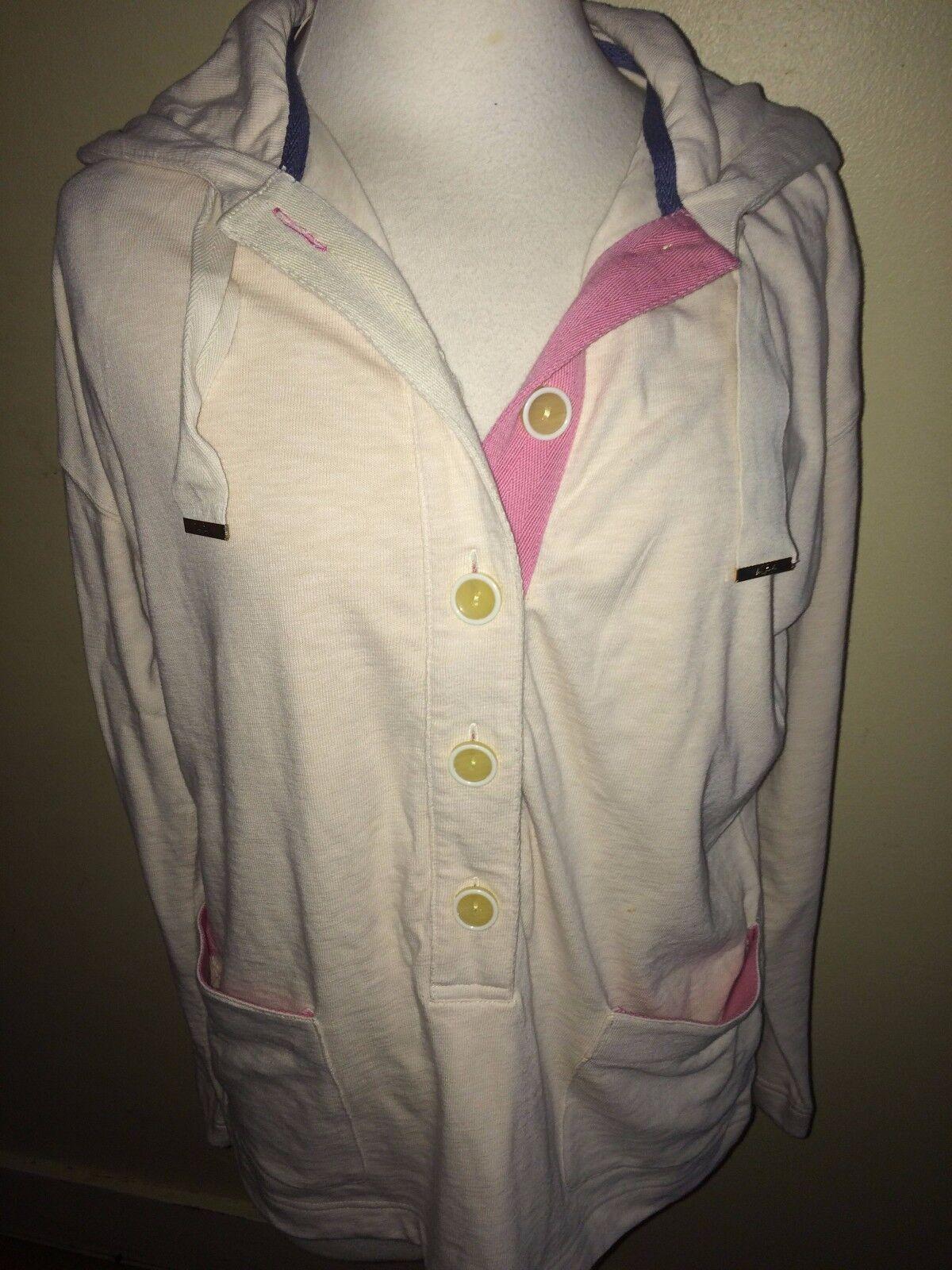 JOULES Chaddersley Hoodie Sweatshirt Sz 12 Free UK P&P