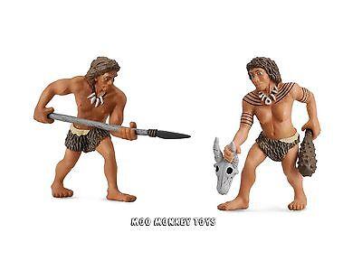 NEANDERTHAL Man & Woman   CollectA # 88526 # 88527   Prehistoric Model  NWTs