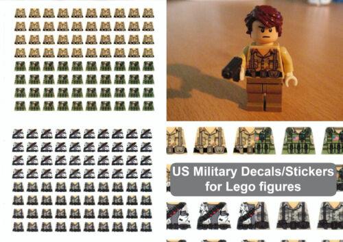 Autocollants Pour Lego Decals-MILITAIRE des États-Unis USAF
