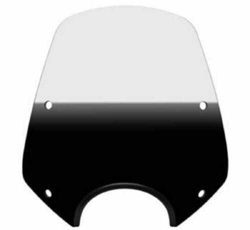 Memphis Shades MEP5011 Del Rey Sportshield Windshield Gradient Black