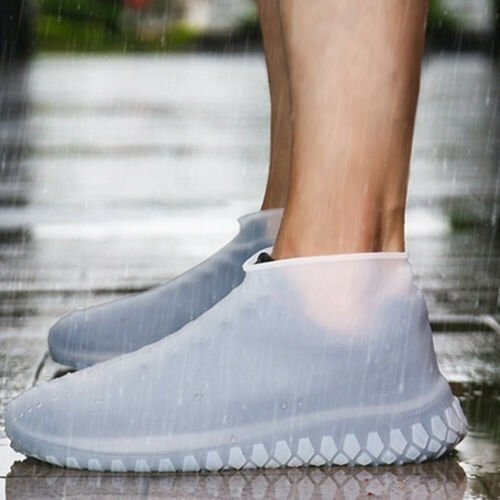 US Rain Shoe Silicone Anti-Slip Reusable Waterproof Shoes Protector Cover BUY