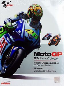 MotoGP-09-Ultimate-Collection-DVD-3-Disc-125cc-amp-250cc-REGION-4-Free-postage