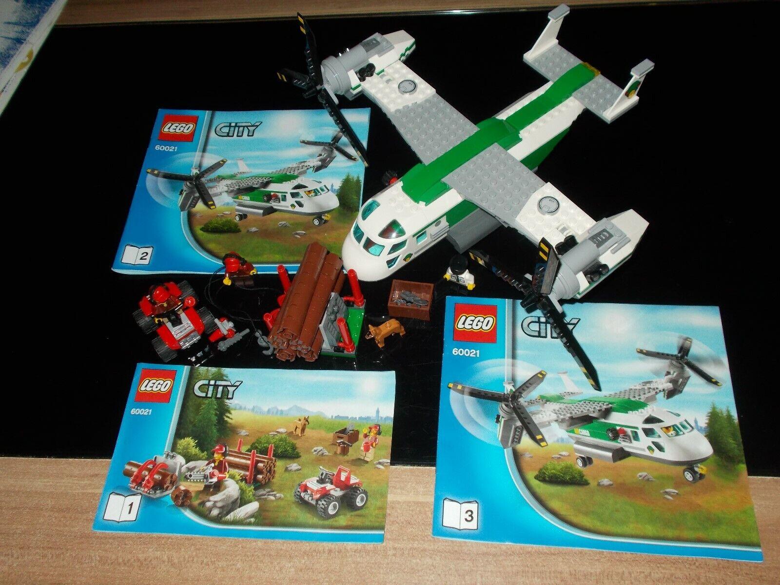 Lego  città - 60021 - Aéronef à rossoor Basculant - avec Instruction de Montage (Ba  elementi di novità