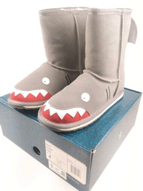 661ae212705 EMU Australia Shark Kids Deluxe Wool Boot Little Creatures in Putty 4