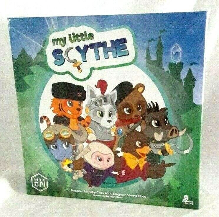 My Little Scythe Game Animal Kingdom Pomme Trophies Family NEW Factory Sealed