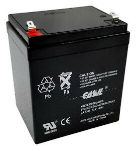 12V-4AH-BACKUP-BATTERY-1240-HONEYWELL-ADEMCO-GE-DSC-ALARM-SYSTEM-REPLACEMENT-UL