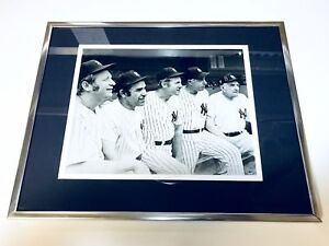 Yankees-Legends-Hall-of-Famers-Mantle-Berra-Ford-DiMaggio-Stengel-Photo